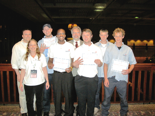 National SkillsUSA Dunwoody students and advisors