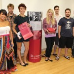 The Dunwoody team--Stephanie Burdorf, Charlotte LaCour, Jenna Weiler, Dan Mueller, Noah Rabinowitz and Finn Pearson--was challenged to create a real-world marketing solution for the College that included a standing display for use at college fairs or on campus, a mailing envelope to send to potential students and a welcome kit for new students.