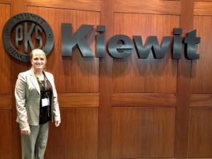 Construction Management student Mindy Heinkel was one of 50 female students nationwide selected to attend the Kiewit Women's Construction Leadership Seminar in Omaha, Neb.