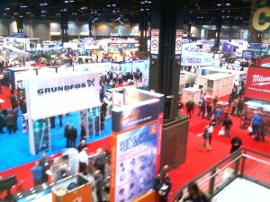 More than 2,000 vendors were present at the AHR Expo.