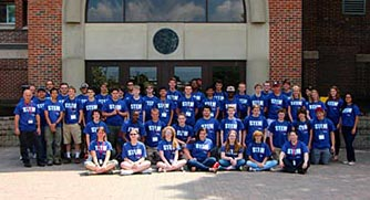 Group shot of STEM Camp students