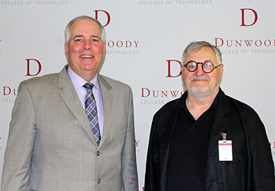 Mulfinger and Dunwoody President Richard Wagner