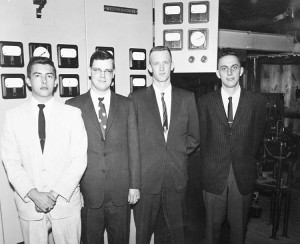 Photo of Woody Nelson and classmates from 1960.
