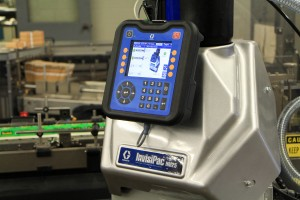 The Graco InvisiPack system works with the MGS Cartoner to fill cartons in Dunwoody's packaging lab.