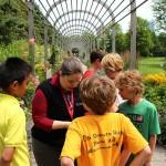 Photo of students in Minneapolis Sculpture Garden
