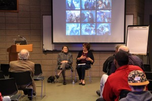 Dora Zaidenweber and Susan Weinberg talk about their experiences at Diversity Forum: Holocaust commemoration.