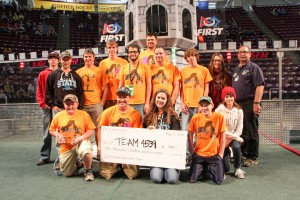 FRC Team 4539 from Frazee-Vergas