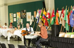 La Familia Music Group plays a set during the 2016 Festival of Cultures.