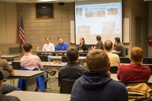 IISE holds industry panel in Holden Center