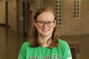 First-year Mechanical Engineering student Phoebe Sanders