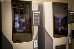 Photo of Dunwoody College's 3-D Printers