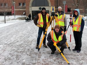 Dunwoody College land surveying certificate students