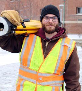 Kyle Knutson, Dunwoody College Land Surveying Certificate Graduate