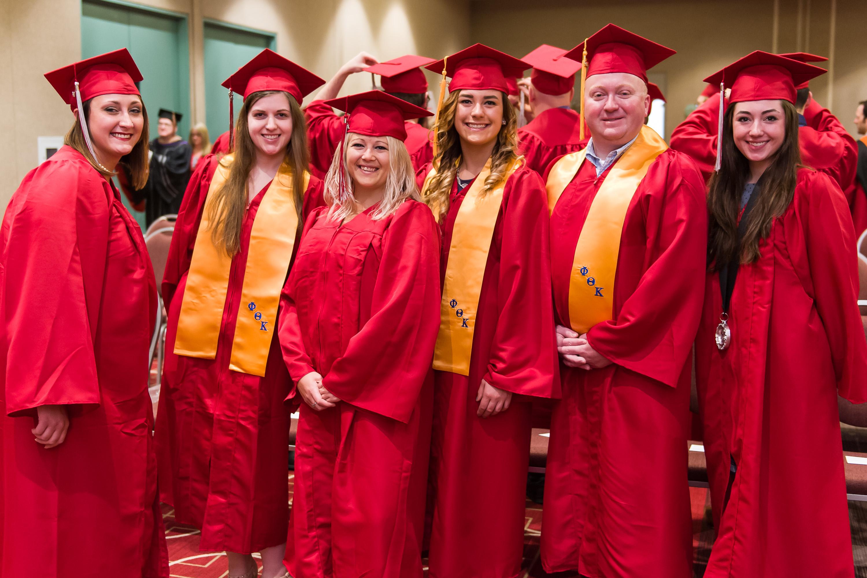 Group photo at Graduation