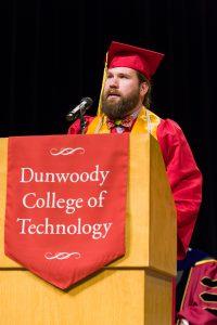 Dunwoody Commencement Student Speaker Danny Treat