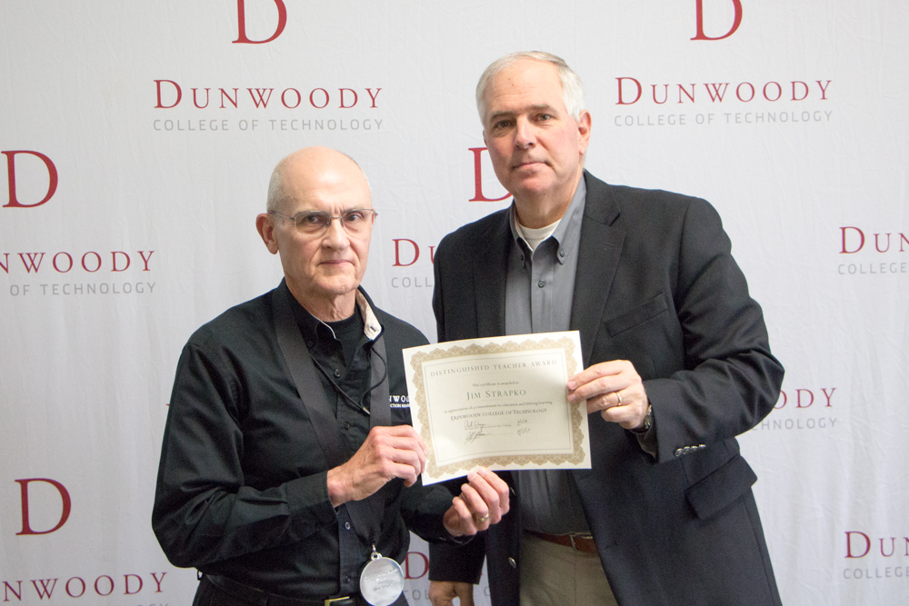 From left to right: Principal Instructor Jim Strapko and President Rich Wagner