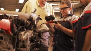 Dunwoody Automotive Service Technology Graduate Beverly White