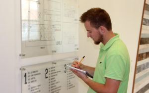 Tyler Bares mapping out plans for the IFP Minnesota project
