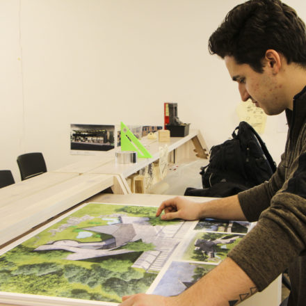 Architecture students collaborate with Como Park on studio project