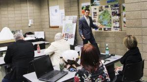 Dunwoody Student Presents Loring Park Design Proposal