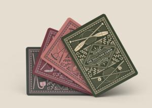 Sullivan Cabin Playing Cards Designed by Matthew Sullivan