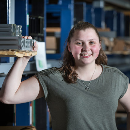 From the classroom to the real world: Paige Fischer, Student Spotlight