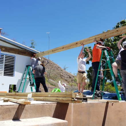 Architecture students use their skills in Puerto Rico over Spring Break