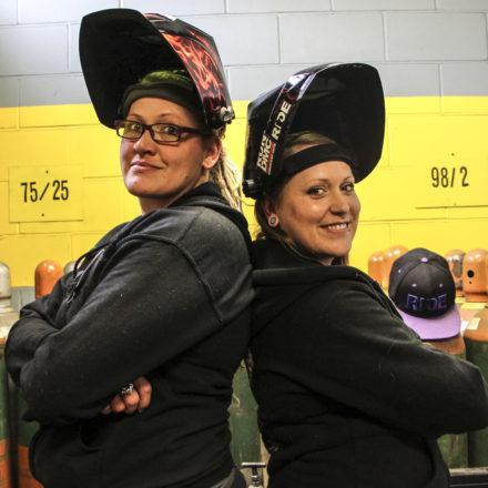 The Welding Sisters: Rene Nichols & Tonya Robarge, Student Spotlight
