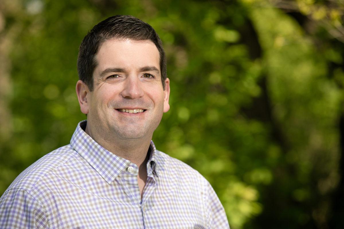 portrait of David Bergen, Academic Excellence Award Winner