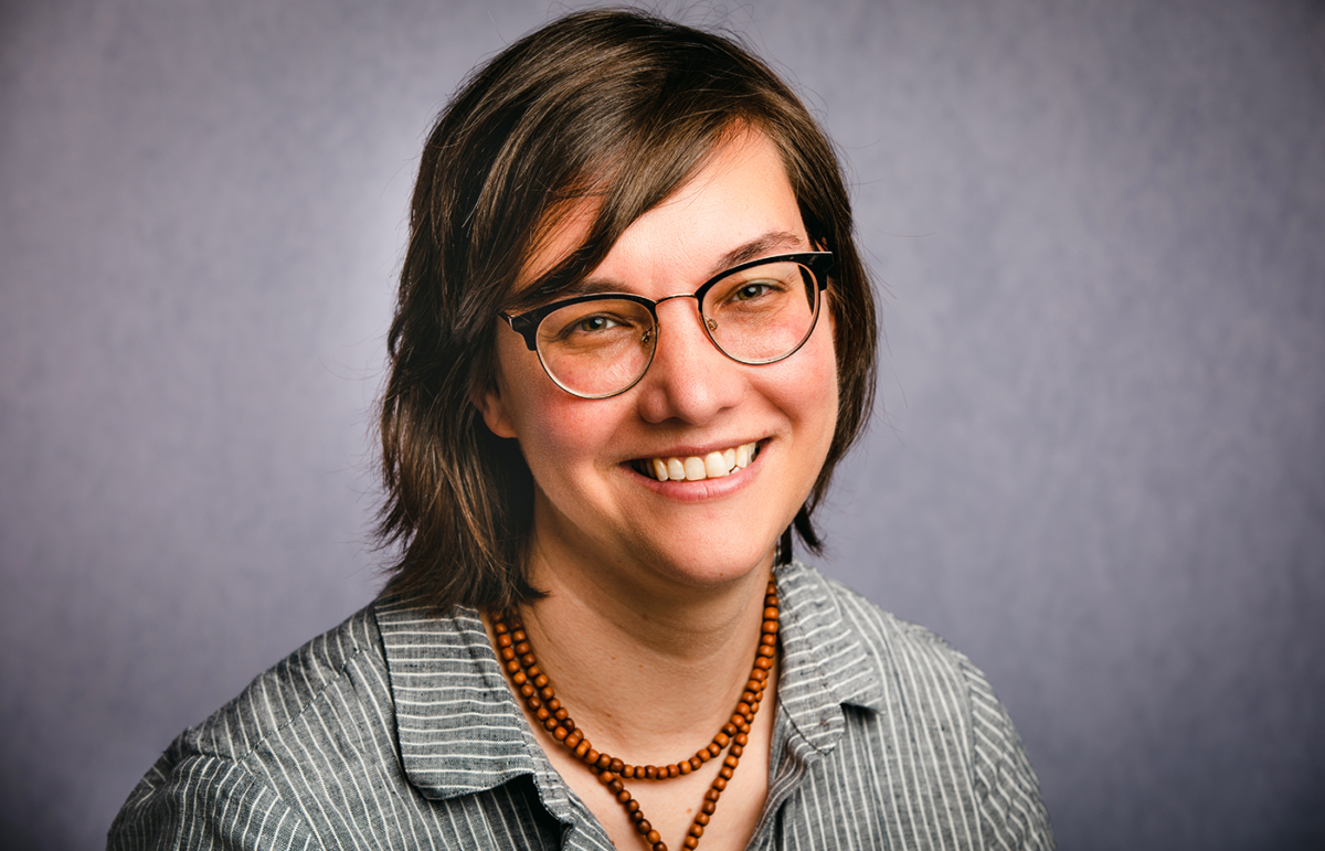 Portrait of Maura Rogers, AIA, NCARB, LEED GA, Director of Architectural Programs