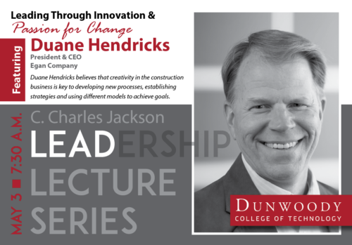 May 3 Leadership Lecture Invite