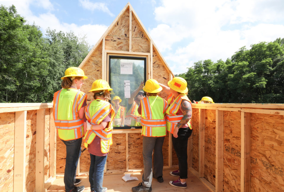 Power Girls build a Tiny House 06272018